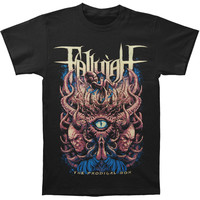 Fallujah Men's  Demon Fetus T-shirt Black Rockabilia