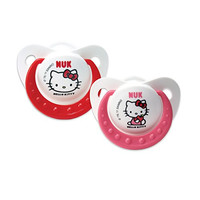 NUK Hello Kitty Puller Pacifier, 6-18 Months