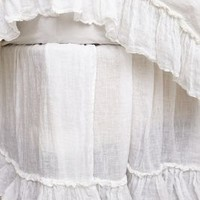 Linen Whisper Bedskirt by