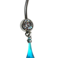 Turquoise Belly Ring