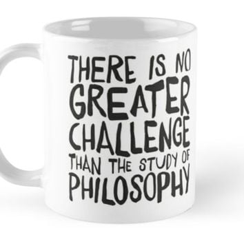 'The Great Challenge' Mug by Naumovski