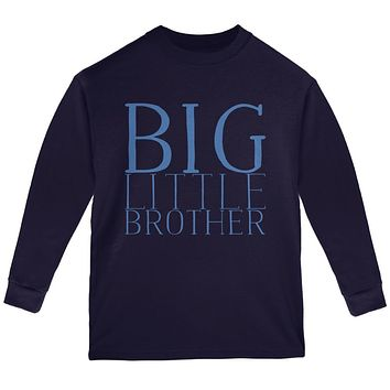 Big Little Brother Youth Long Sleeve T Shirt