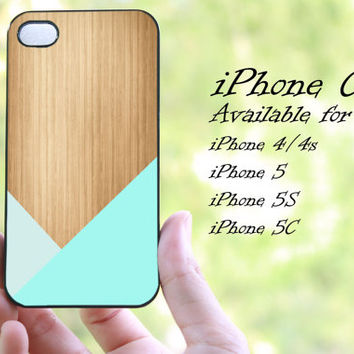 colorful geometric tiffany wood design iphone case for iphone 4 case, iphone 4s case,iphone 5 case, iphone 5s case, iphone 5c case