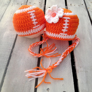 Newborn Football Hat, Photo Props, Photography Props, Football, Crochet Football, Hat, Beanie, Football Hat, Boys, Girls, Outfit