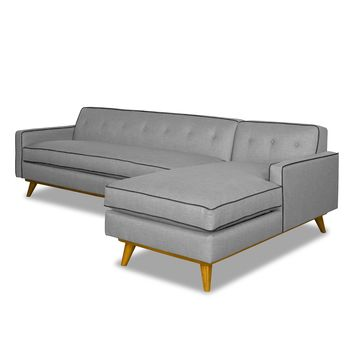 Clinton 2pc Sectional Sofa