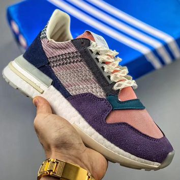 Trendsetter Commonwealth X Adidas Originals Zx500 Rm Boost  Women Men Fashion Casual Sneakers Sport Shoes