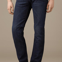 Relaxed Fit Stretch-Selvedge Jeans