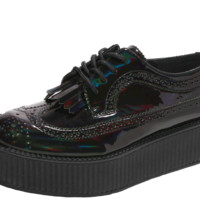 Iridescent Brogue Creepers