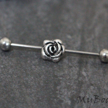 Rose Industrial Barbell