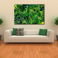 Instant Download Art, Green Canvas Art Print, Green Wall Art, Printable Wall Art, Wall Decor, Green Art, Green Abstract, Green Wall Decal