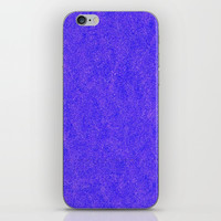 Purple Glitter iPhone Skin by kasseggs