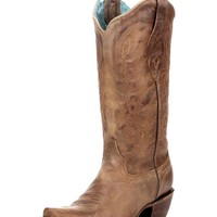 Women's Vintage Tan Cowhide Boot - C1928