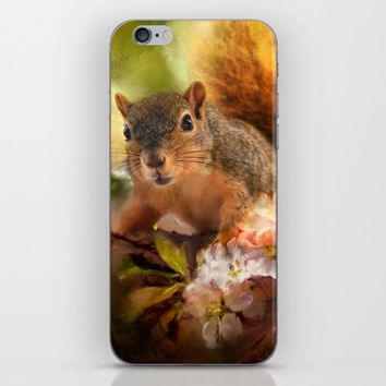 You Foxy Thing iPhone & iPod Skin by Theresa Campbell D'August Art