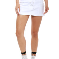 Brooklyn Karma Lace Up Skirt