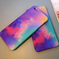 Tie-dyed iPhone 7 7 Plus & iPhone 6 6s Plus & iPhone 5s se Case Personal Tailor Cover + Gift Box-487