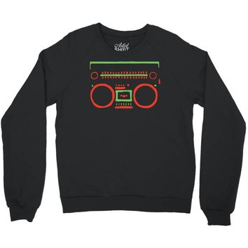 a tribe called quest   speaker hip hop the cutting edge Crewneck Sweatshirt