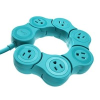 Quirky PPVPP-TL01 Pivot Power POP - Teal:Amazon:Electronics
