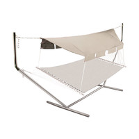 Hammock Canopy with Poles at Brookstone—Buy Now!