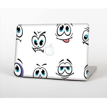 The Cartoon eyes Skin Set for the Apple MacBook Pro 13""