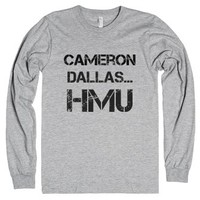 cam dallas hmu-Unisex Heather Grey T-Shirt