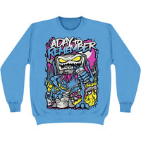 A Day To Remember Men's  Attack Of The Killer B-Sides Sweatshirt Blue