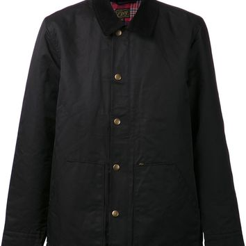 Obey contrast collar jacket