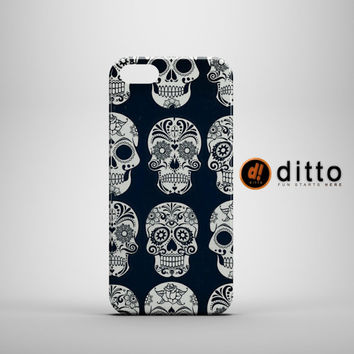 SKULL PATTERN Design Custom Case by ditto! for iPhone 6 6 Plus iPhone 5 5s 5c iPhone 4 4s Samsung Galaxy s3 s4 & s5 and Note 2 3 4