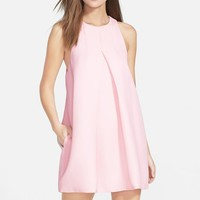 Women's Cameo 'Atmosphere' Pleat Front A-Line