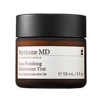 Perricone MD Face Finishing Moisturizer Tint Broad Spectrum SPF 30 (2 oz self-adjusting light/ medium beige)