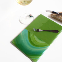 Cheese Tray - Glass Cheese Tray