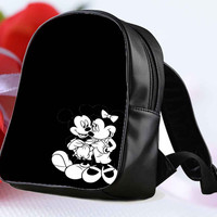 mickey mouse zeichnung for Backpack / Custom Bag / School Bag / Children Bag / Custom School Bag **