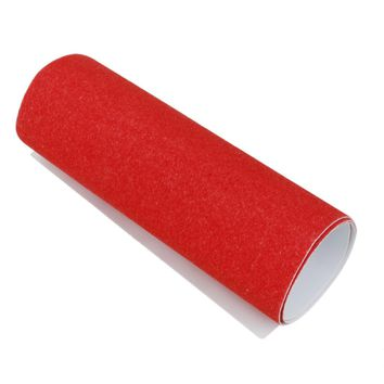 Red 840mm*23mm / 33*0.9inch PVC High Quality Professional Skateboard Deck Perforated Griptape Sticker Sandpaper