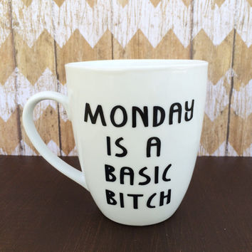 Monday Is A Basic B**** Mug