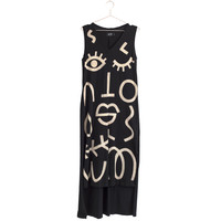 Wink V-Neck Tank Dress