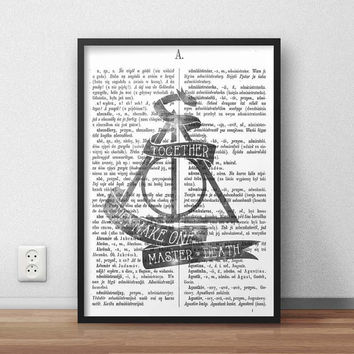Deathly Hallows Harry Potter Galaxy - A3 SIZE, (Instant Download) , 300 dpi, Awesome Design Printing, Harry Potter Poster