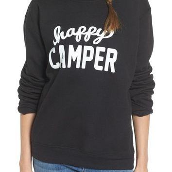 Sub_Urban Riot 'Happy Camper' Graphic Sweatshirt | Nordstrom