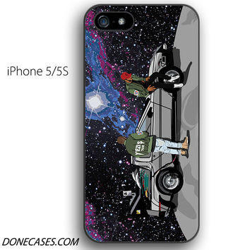 back to future on moon yeezus tour iPhone 5 / 5S Case