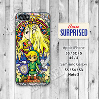 Legend of Zelda, iPhone 5 case, iPhone 5C Case, iPhone 5S case, Phone case, iPhone 4 Case, iPhone 4S Case, iPhone case, Phone Skin, LOZ01