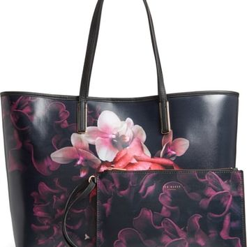 Ted Baker London Splendour Coated Canvas Shopper | Nordstrom