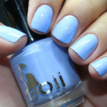 pastel blue - Boii Nail polish from BoysNailpolish on Etsy