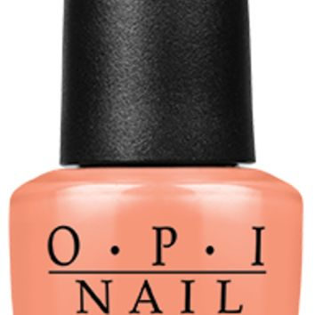 OPI Nail Lacquer - I'm Getting a Tan-gerine 0.5 oz - #NLR68