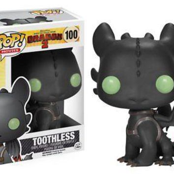 Funko Pop Movies: How To Train Your Dragon 2 - Toothless Vinyl Figure