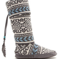 MukLuks Tribal Block Slipper Boots at PacSun.com