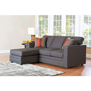 Beeson Fabric Queen Sleeper Chaise Sofa