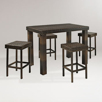 Pinamar Dining Set, 5-Piece - World Market