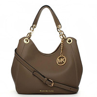 Michael Kors MK Leather Handbag Tote Shoulder Bag Satchel