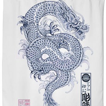 Chinese Dragon Shower Curtain - Home The Honoroak