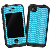 "Blue Waves ""Protective Decal Skin"" for LifeProof iPhone 4/4s Case"