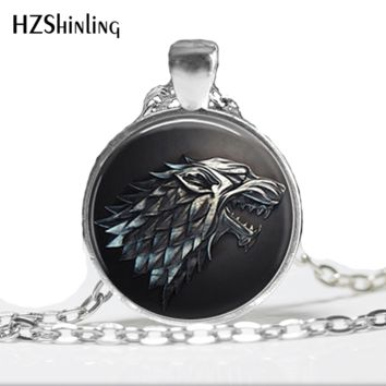 1pc   12 different items Game of thrones  Dragon House Stark Targaryen Westeros Map Pendant necklace HZ1