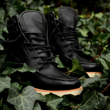 Sebago King's Point Boot - Black | 7 Boots | Ronnie Fieg x Sebago